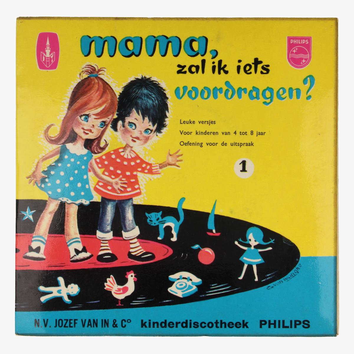 Afbeeldingen van LP Mama zal ik iets voordragen?