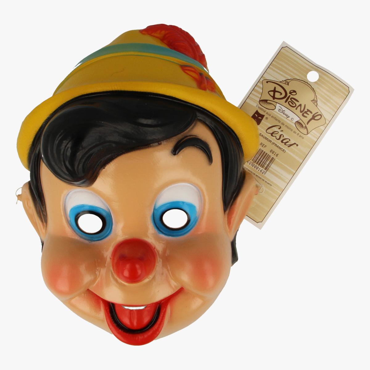 Afbeeldingen van Masker carnaval Pinokkio
