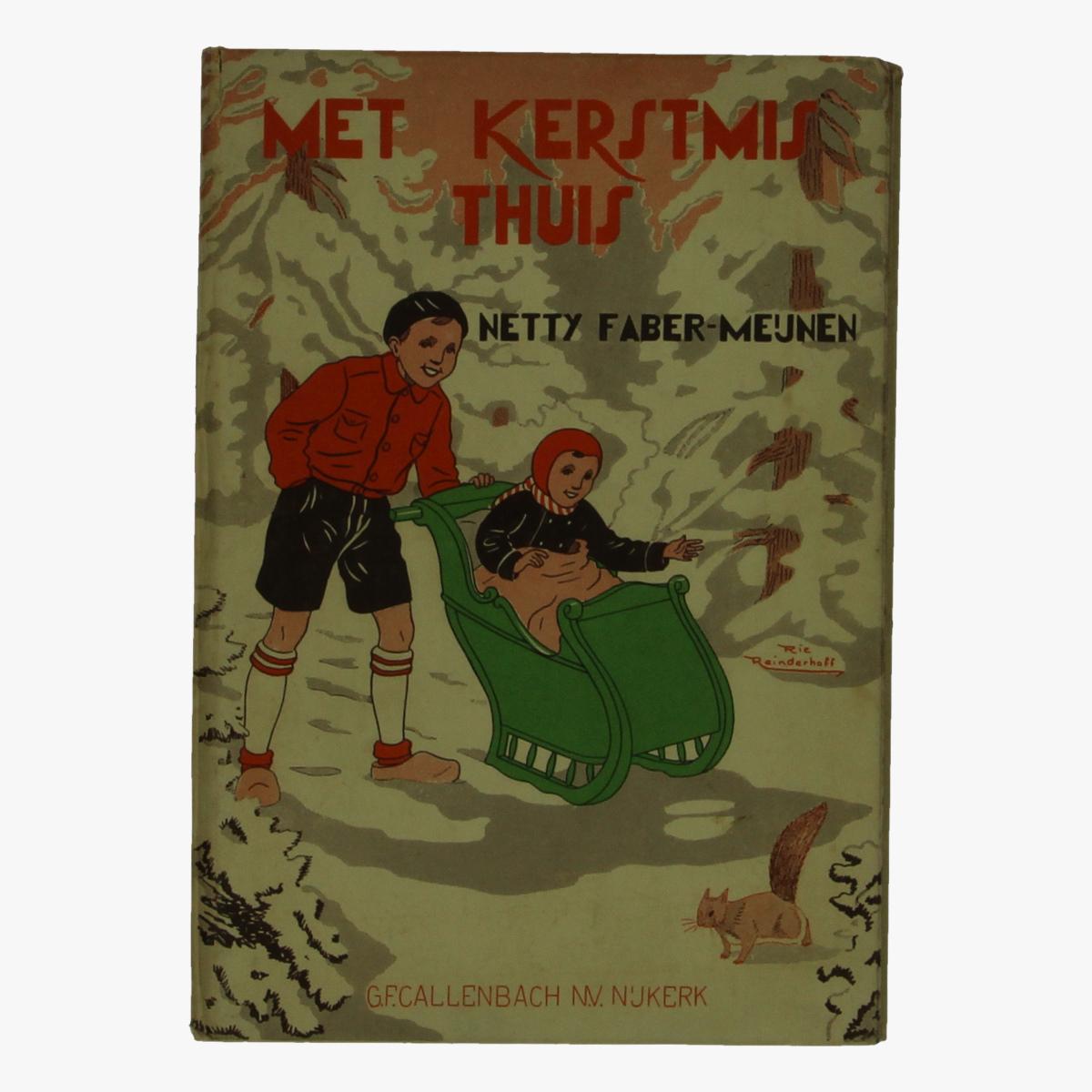 Afbeeldingen van boek Met Kerstmis thuis