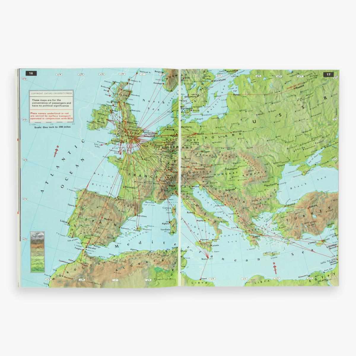Afbeeldingen van bea british european airways about your flight
