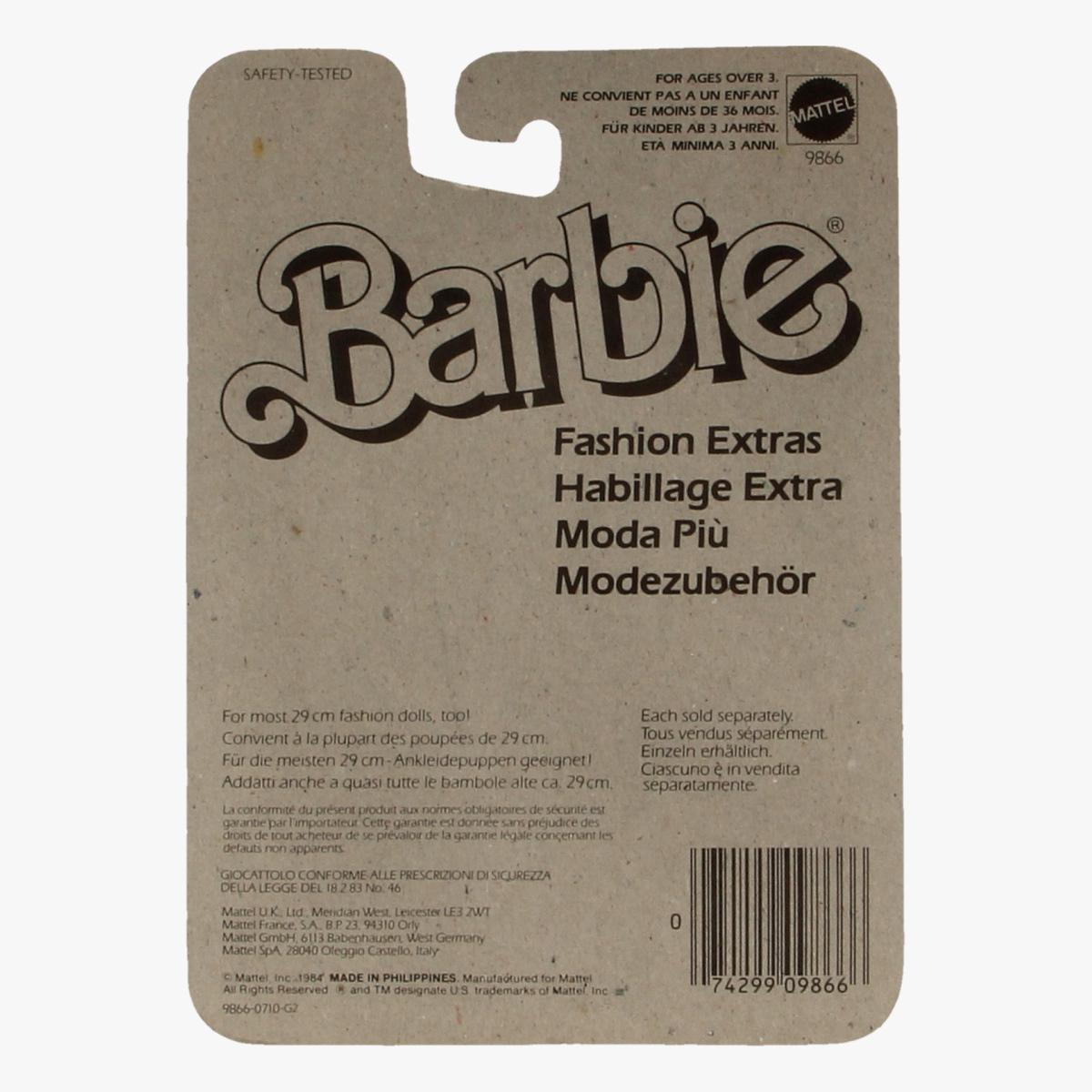 Afbeeldingen van Barbie Fashion extras