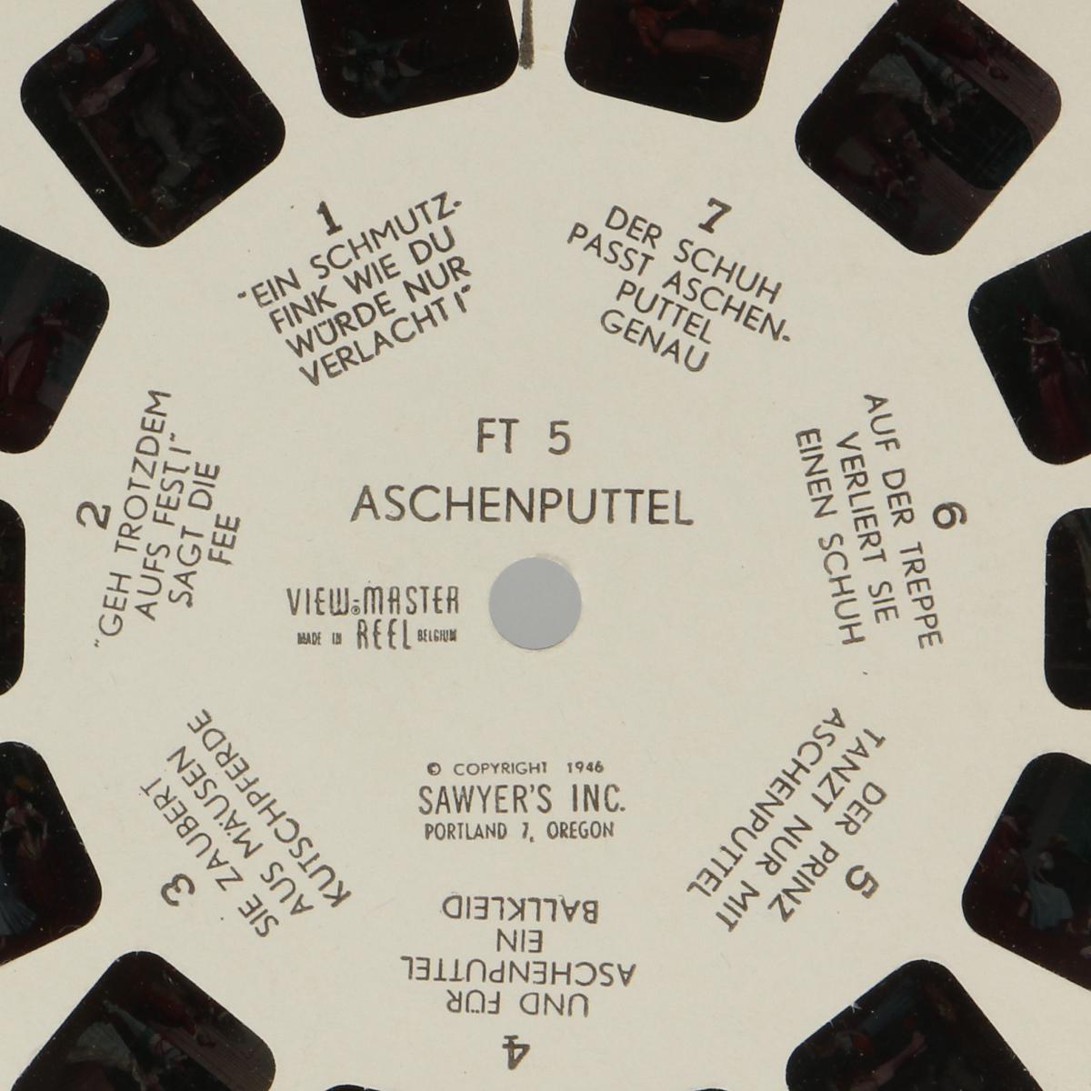 Afbeeldingen van View-master Aschenputtel FT 5