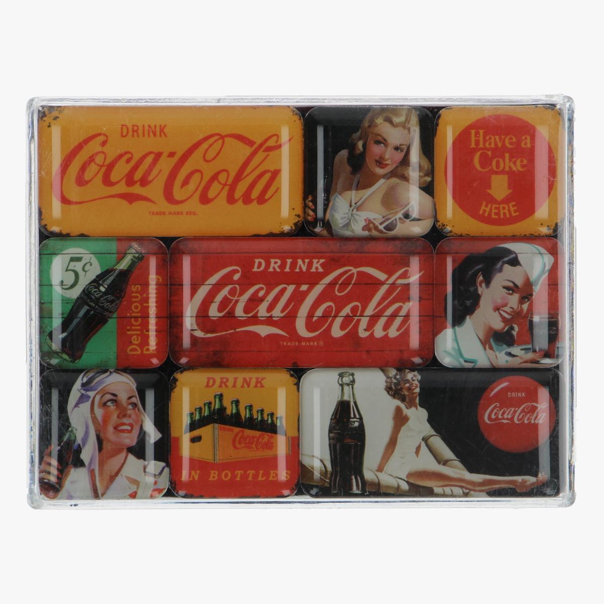Afbeeldingen van magneetjes coca cola repro