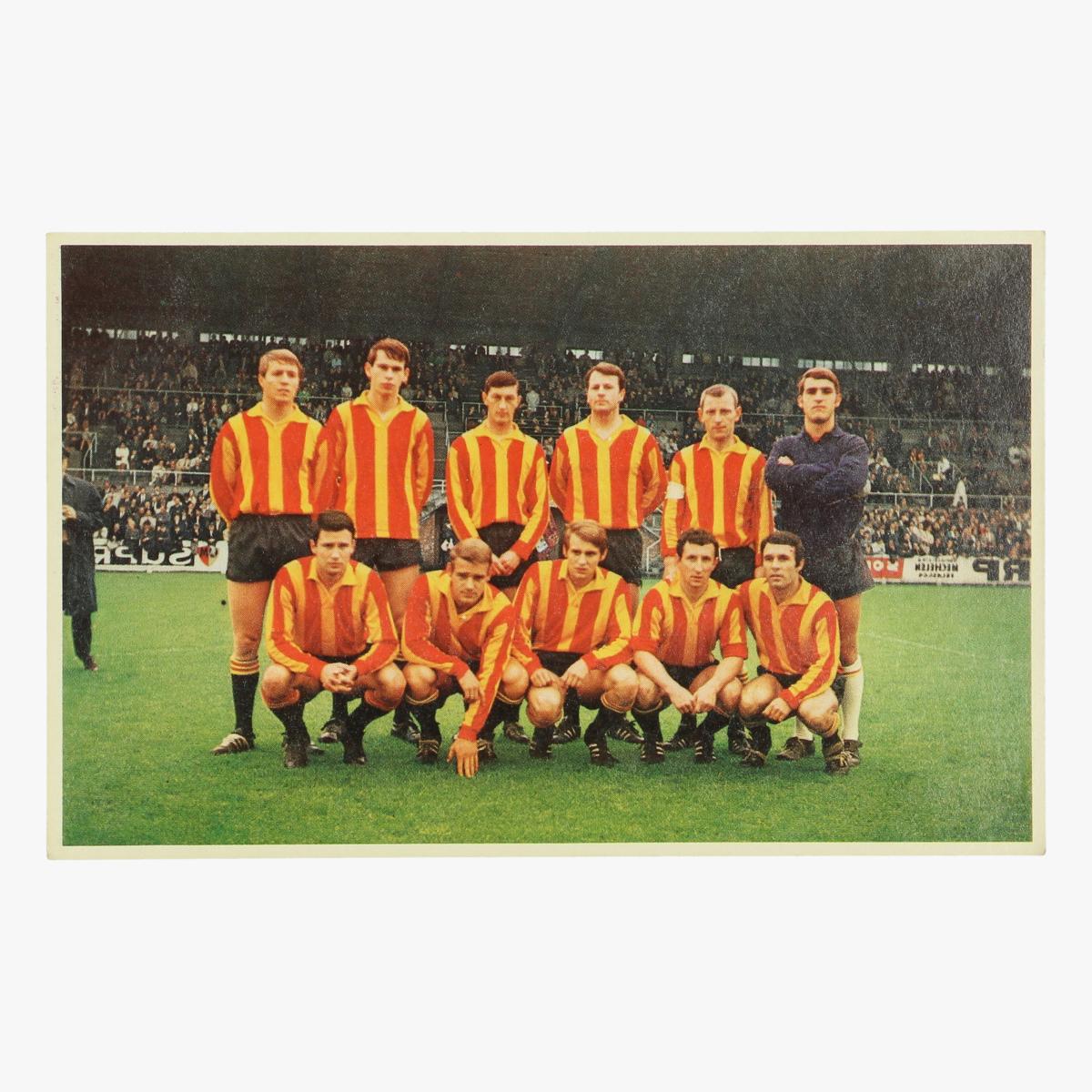 Afbeeldingen van oude postkaart voetbal f.c.mechelen / f.c. malinois