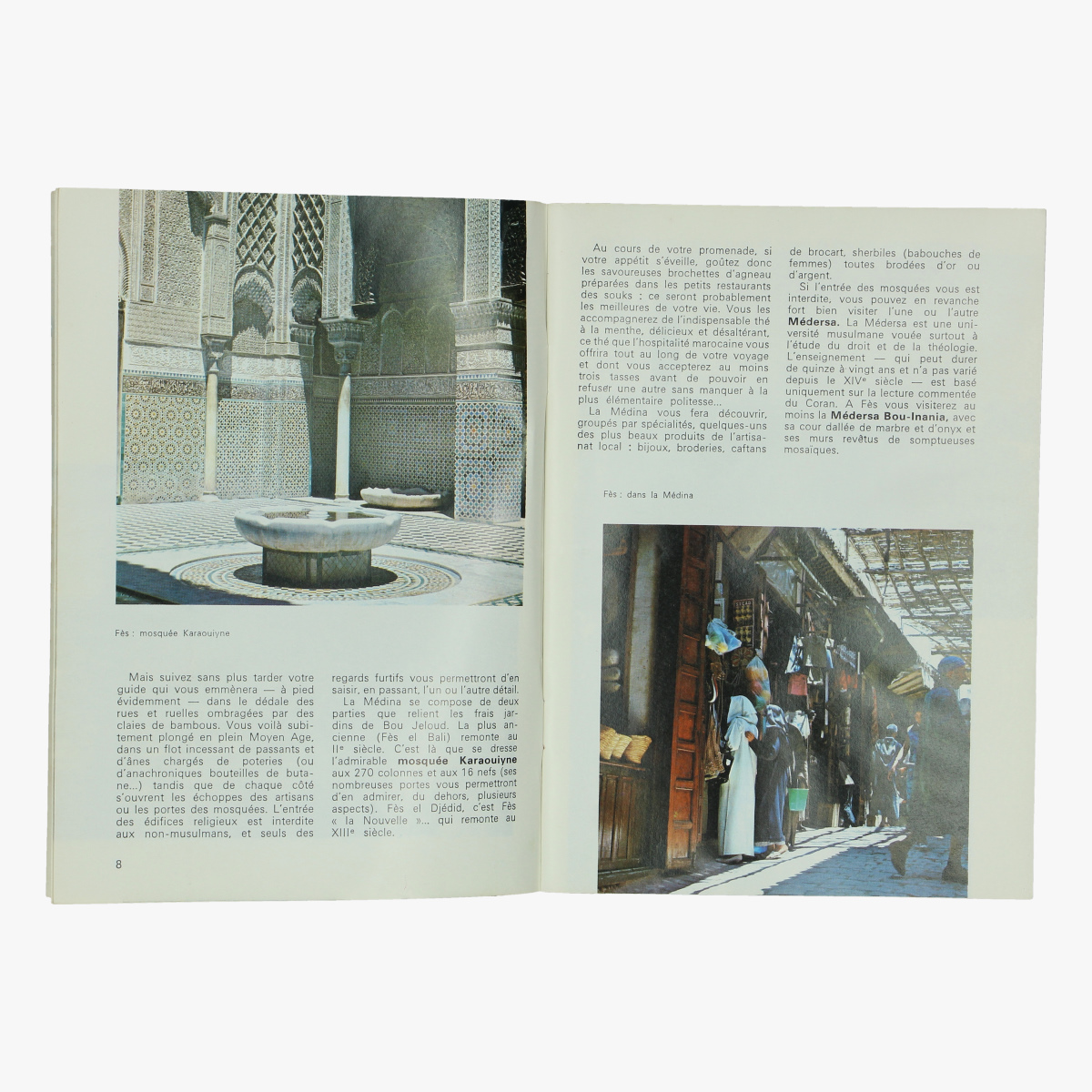 Afbeeldingen van sabena magazine 1970 maroc - tunise