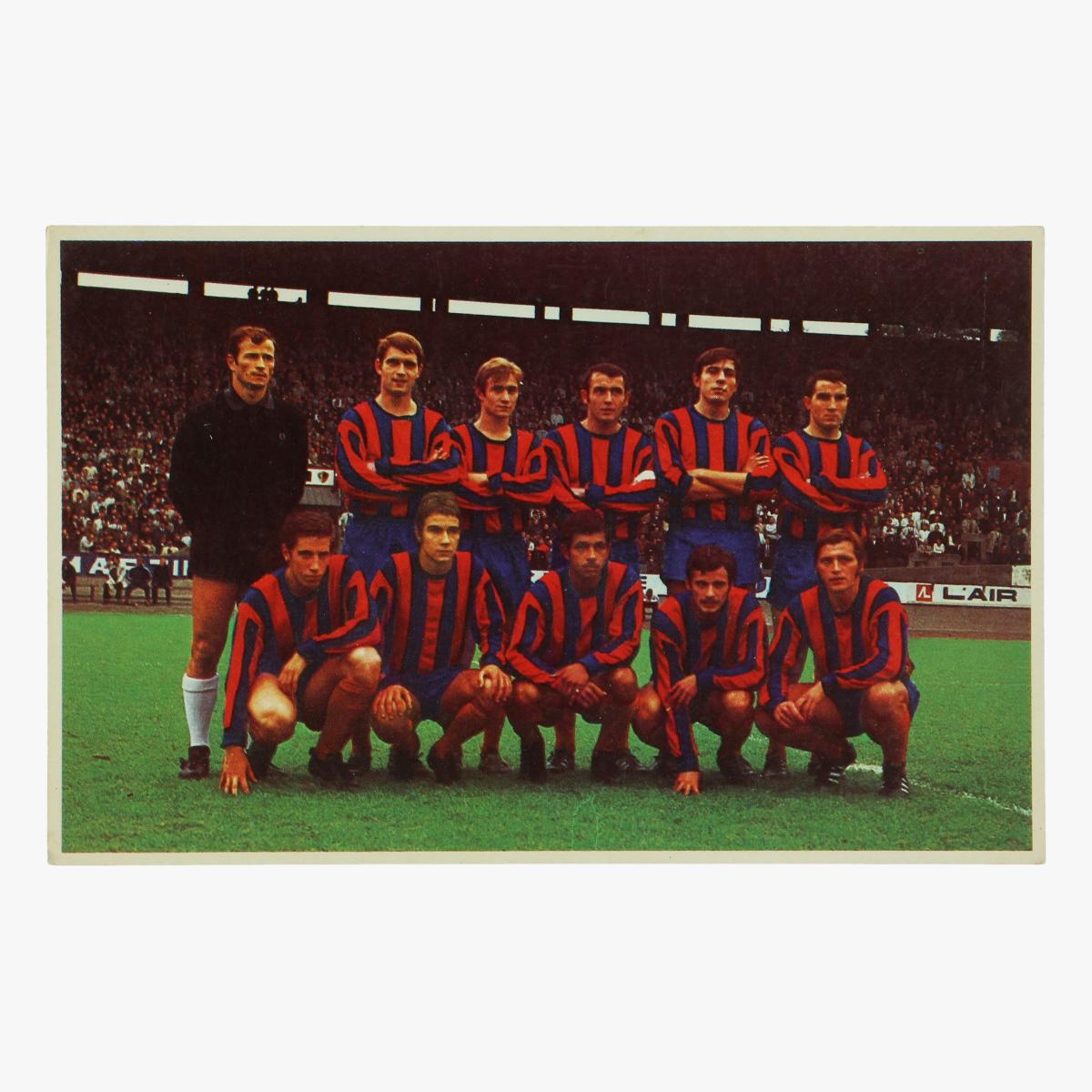 Afbeeldingen van oude postkaart voetbal f.c.luik