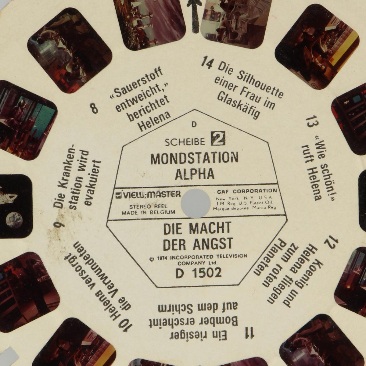 Afbeeldingen van View-master Mondstation Alpha Die macht der angst D1502