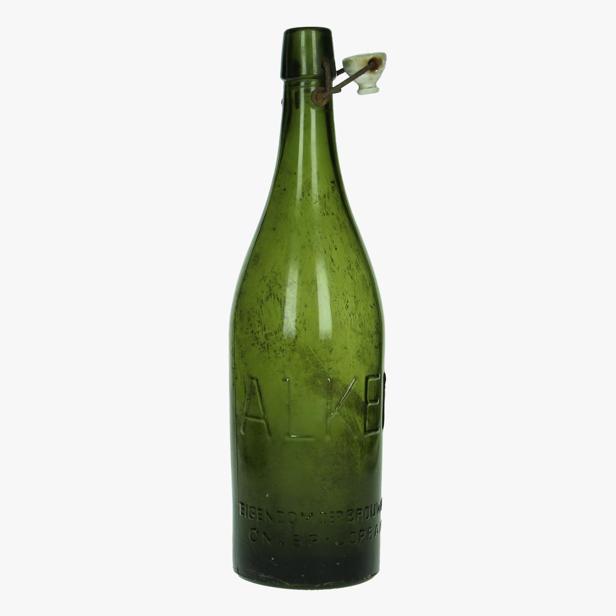 Afbeeldingen van oude bierfles Alken