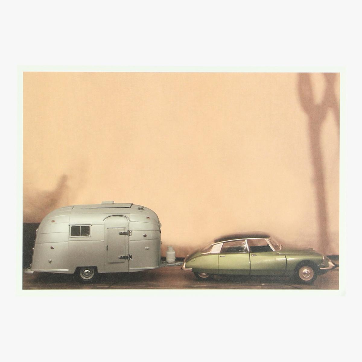 Afbeeldingen van postkaart citroen DS & Airstream