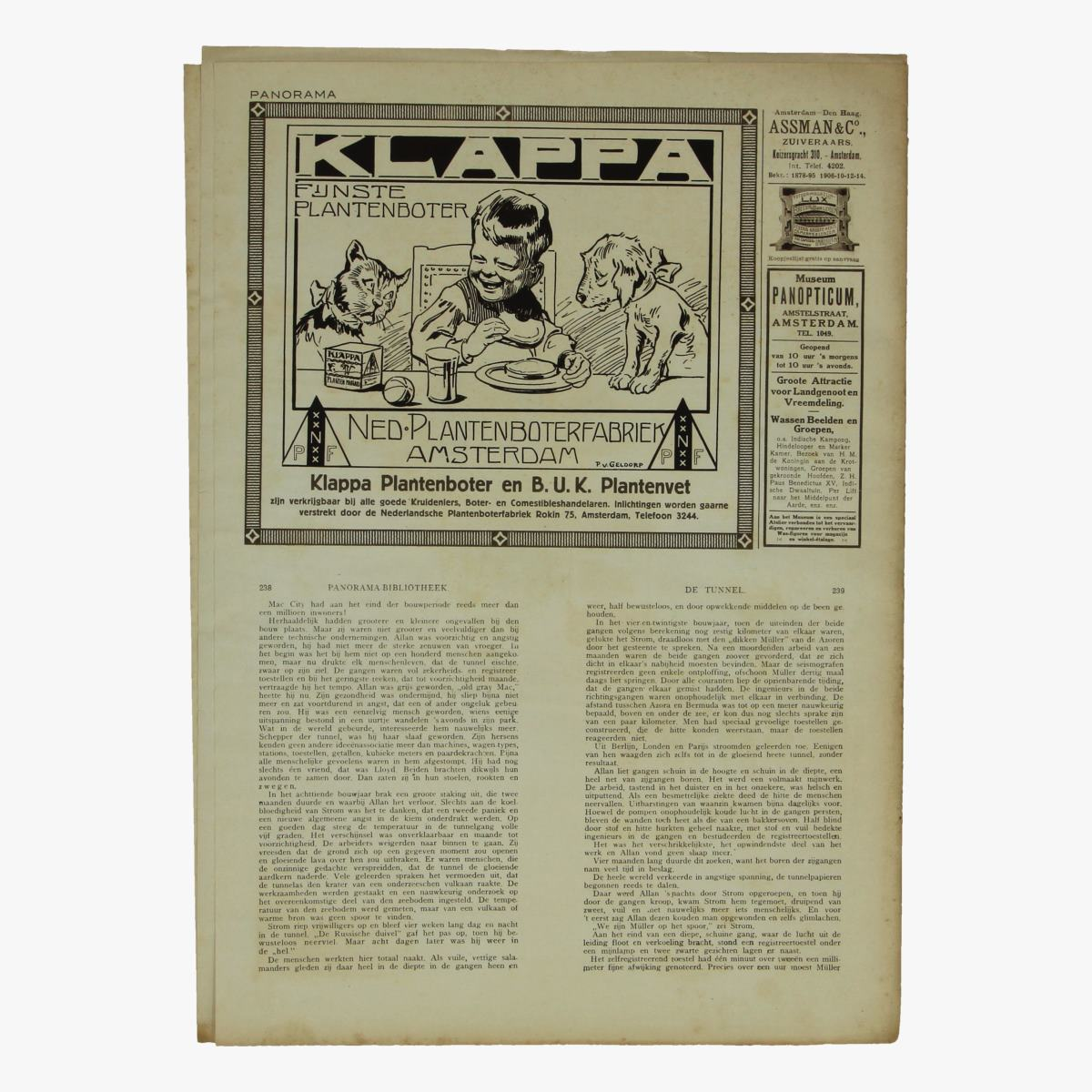 Afbeeldingen van oude weekblad panorama N°48   14 juni 1915