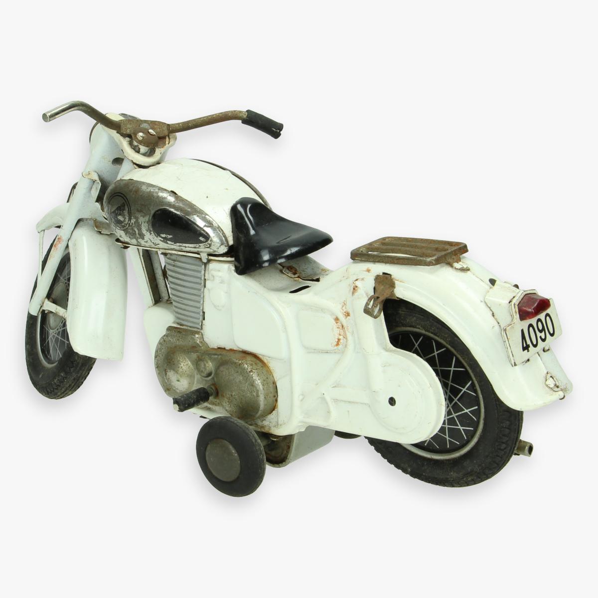 Afbeeldingen van tin toy motorcycle bandi zonder bestuurder en afstandsbediening