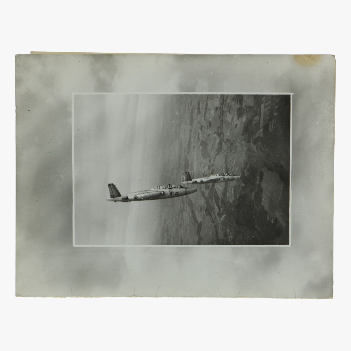 Afbeeldingen van wenskaart vervolmakingscentrum luchtmacht Sint-truiden