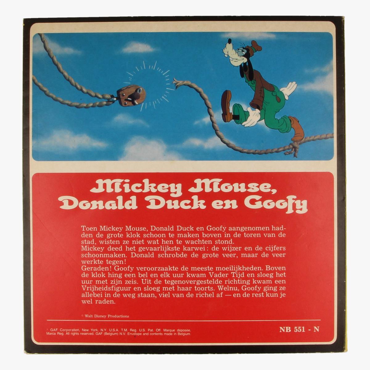 Afbeeldingen van View-master Mickey mouse, Donald6686470334633 duck en Goofy B5511,B5512,B5513