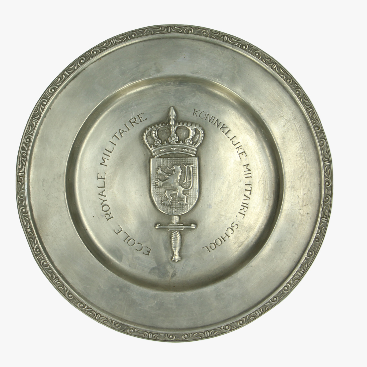 Afbeeldingen van Bord tin, Koninklijke militaire school