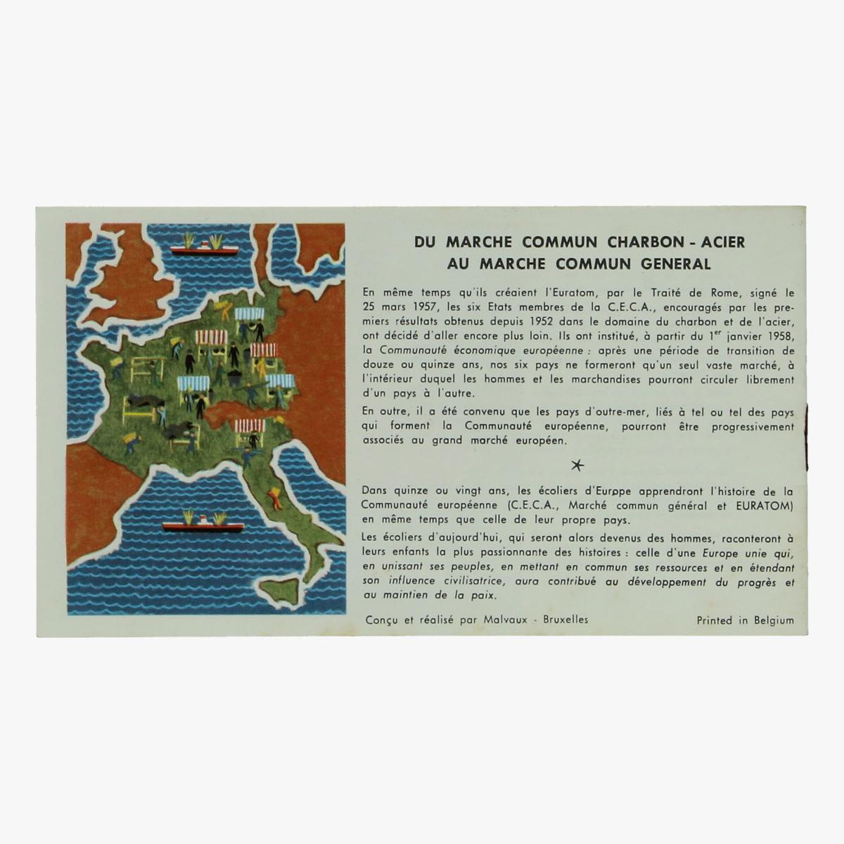 Afbeeldingen van expo 58 folder l'homme le carbon l'acier l' europe