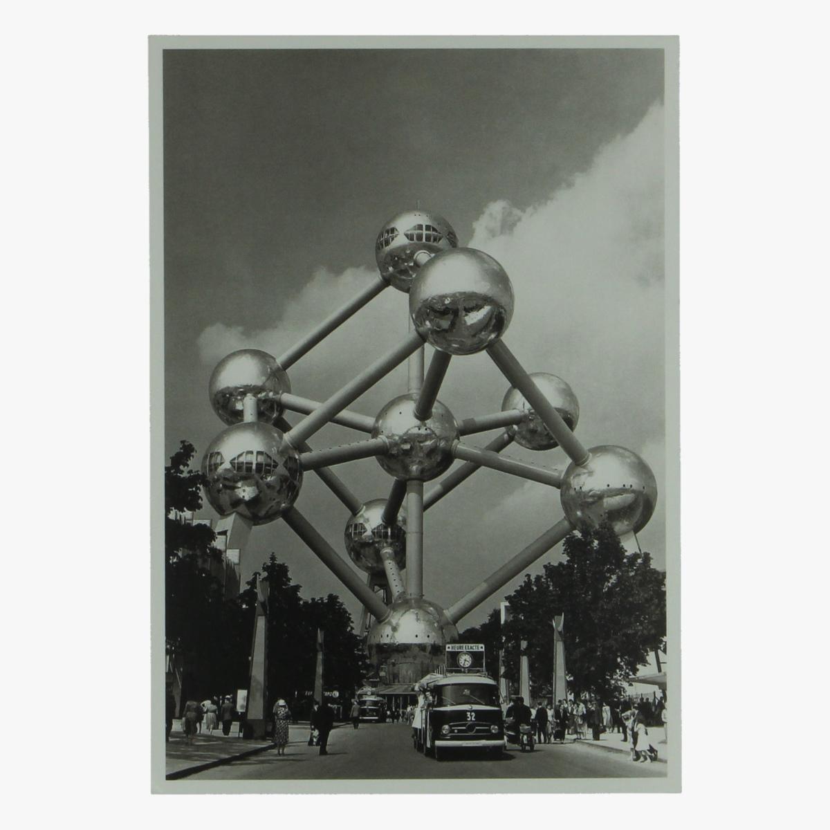 Afbeeldingen van postkaart atomium