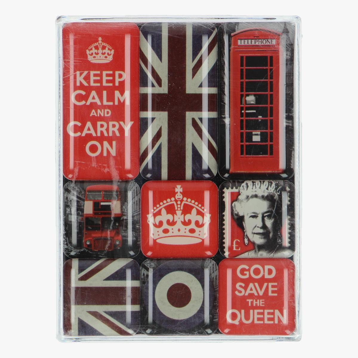 Afbeeldingen van magneetje Engeland