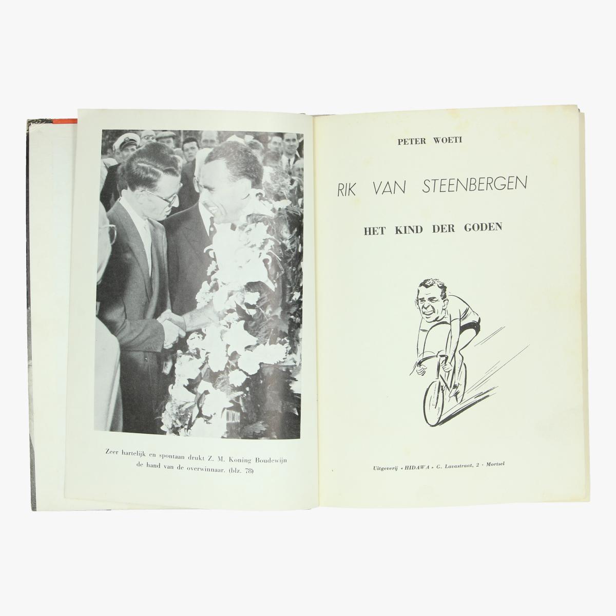 Afbeeldingen van boek Rik  Van Steenbergeb Het kind der goden