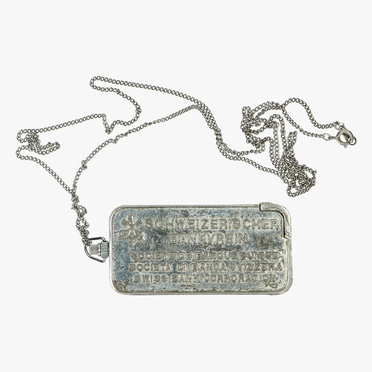 Afbeeldingen van oude aansteker ketting goudbaar 50 gram swiss bank corporation de ketting is 72 cm