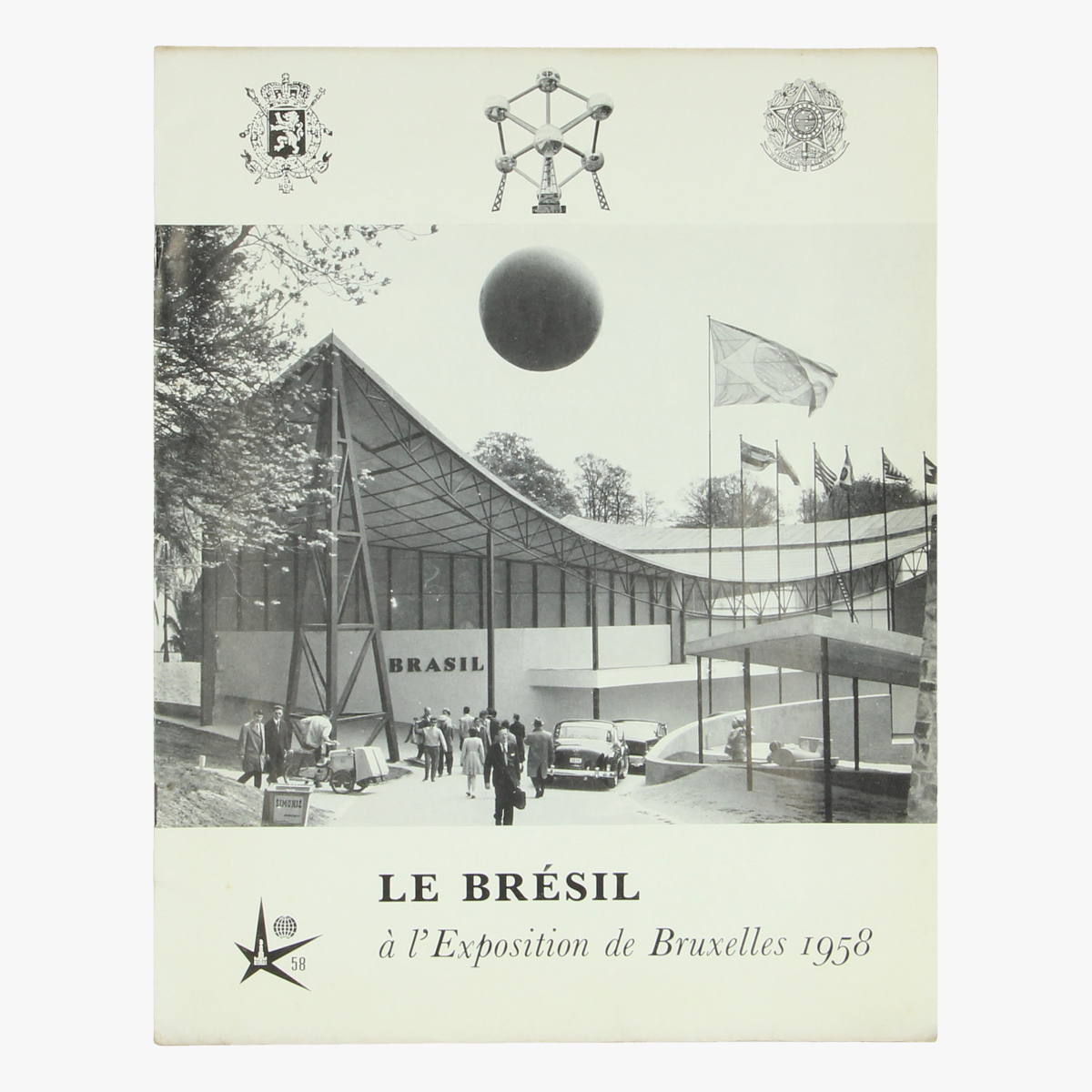 Afbeeldingen van expo 58 le brésil a l' exposition de bruxelles 1958 brasil