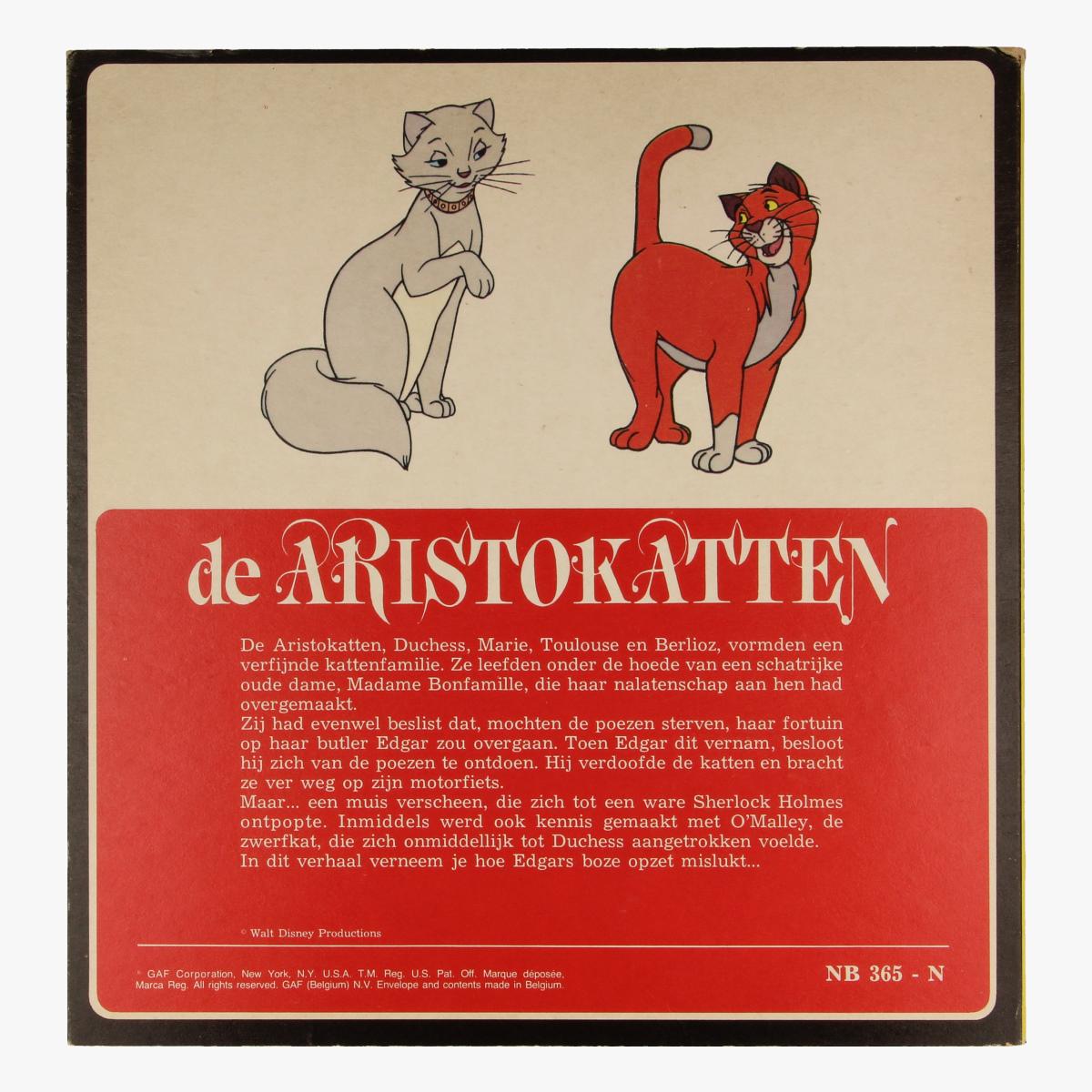 Afbeeldingen van View-master De Aristokatten B3651,B3652,B3653