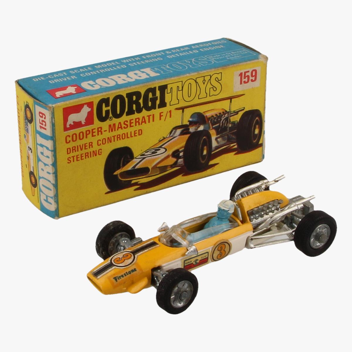 Afbeeldingen van Corgi Toys. Cooper Maserati F/1 Nr. 159