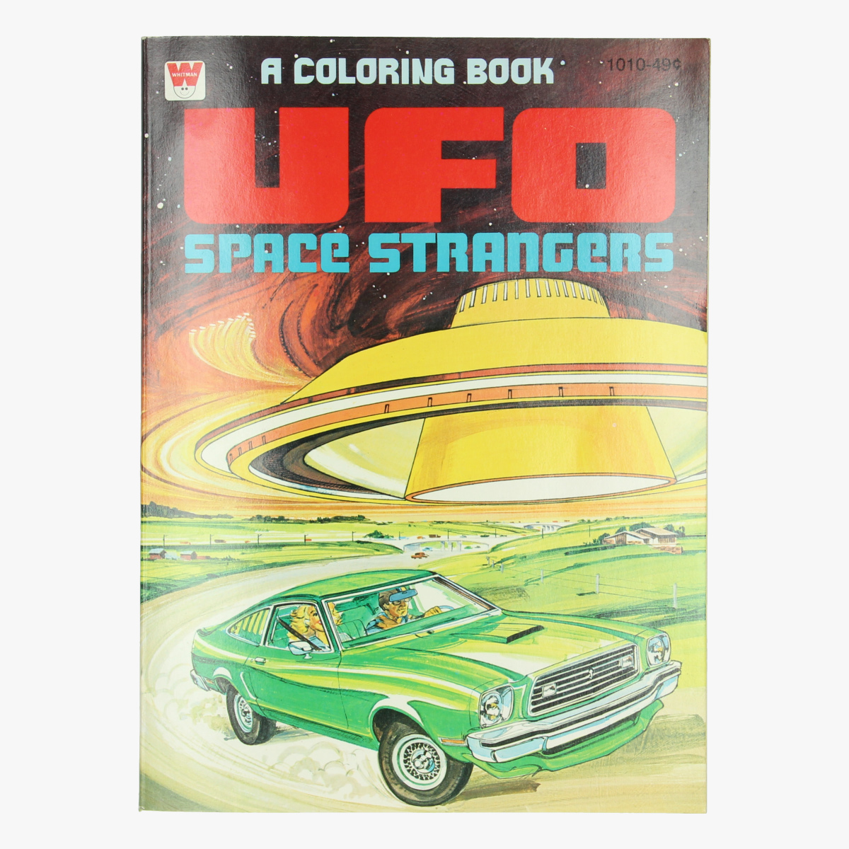 Afbeeldingen van Stripboek UFO - Space strangers - Kleurboek