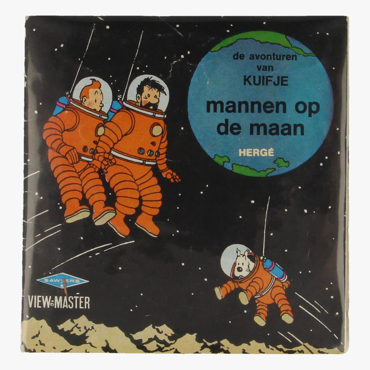 Afbeeldingen van View-Master de avonturen van Kuifje. Mannen op de maan. Hergé. B 543-N-5/68