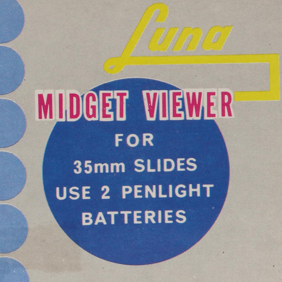 Afbeeldingen van Midget Viewer Luna 35 mm slides