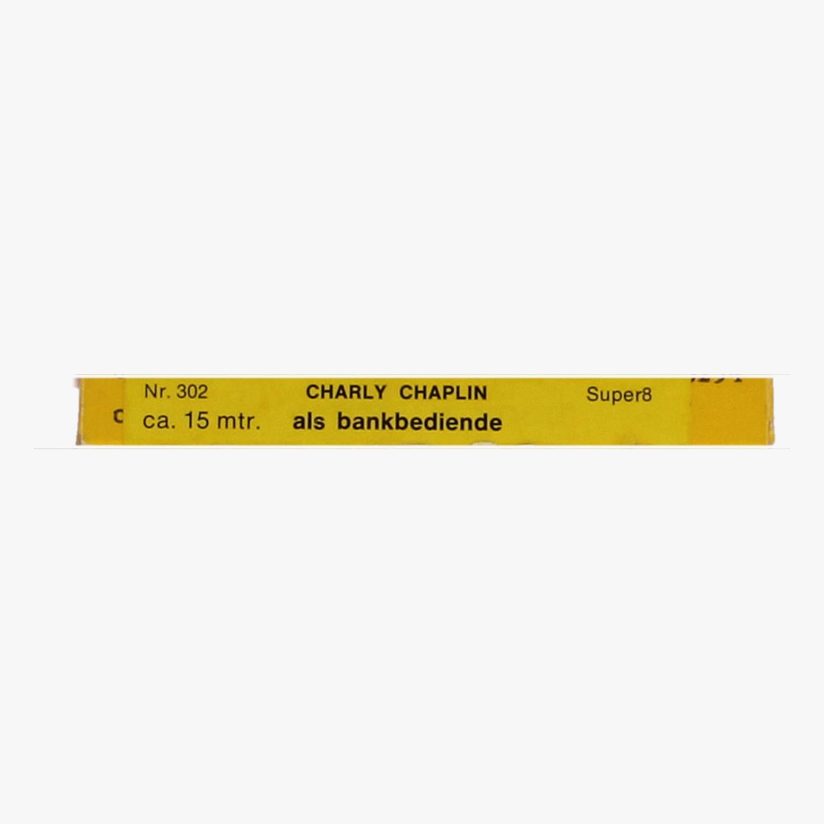 Afbeeldingen van Home Movie Films 8mm. Charly Chaplin. 302 Charly als bankbediende