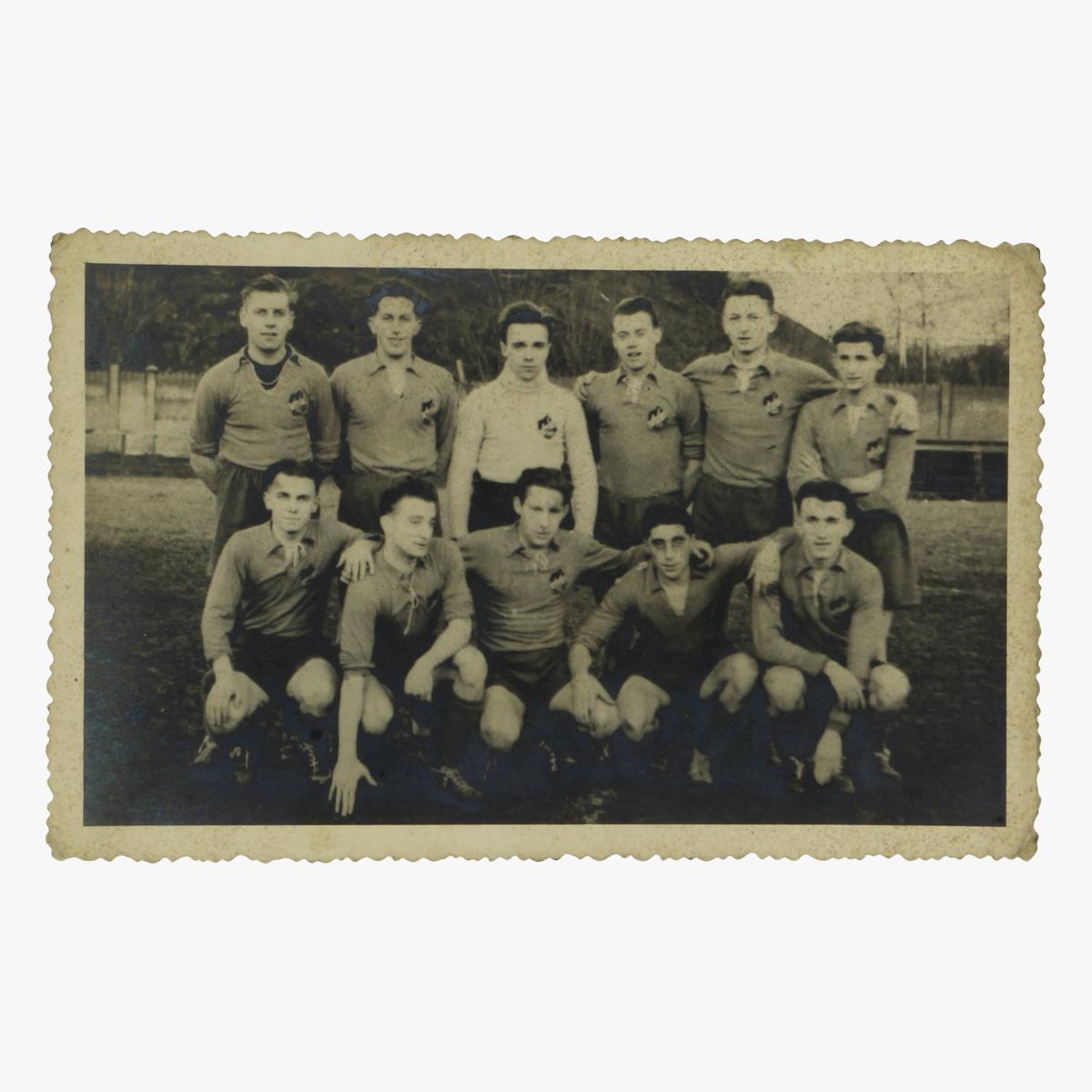 Afbeeldingen van oude postkaart voetbal