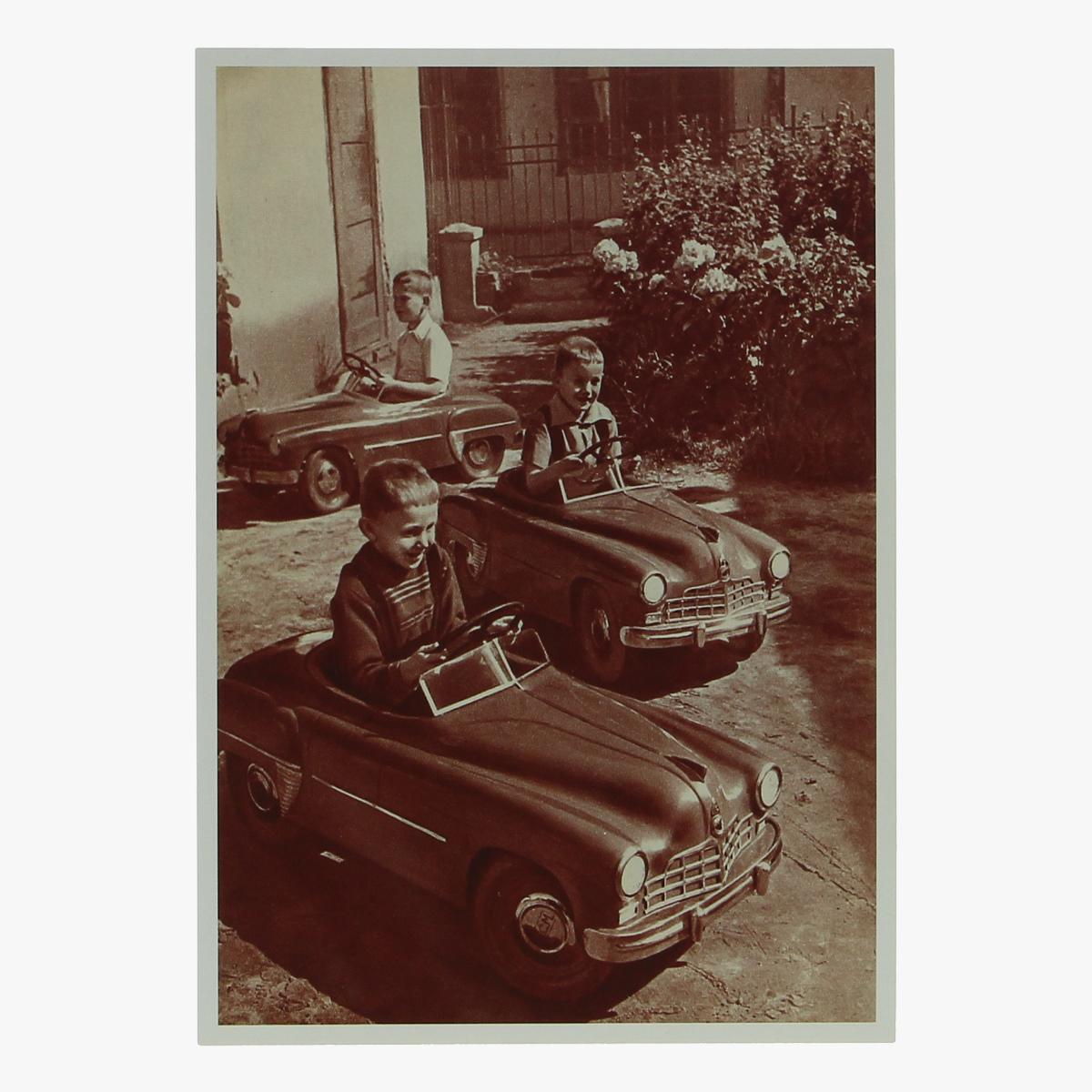 Afbeeldingen van postkaart trapwagens repro