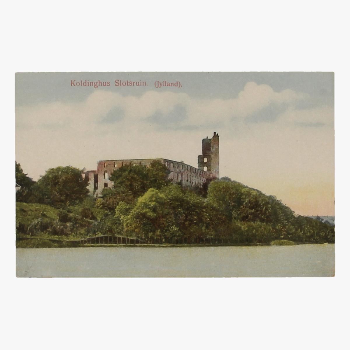 Afbeeldingen van Postkaart Koldinghus Slotsruin Denemarken