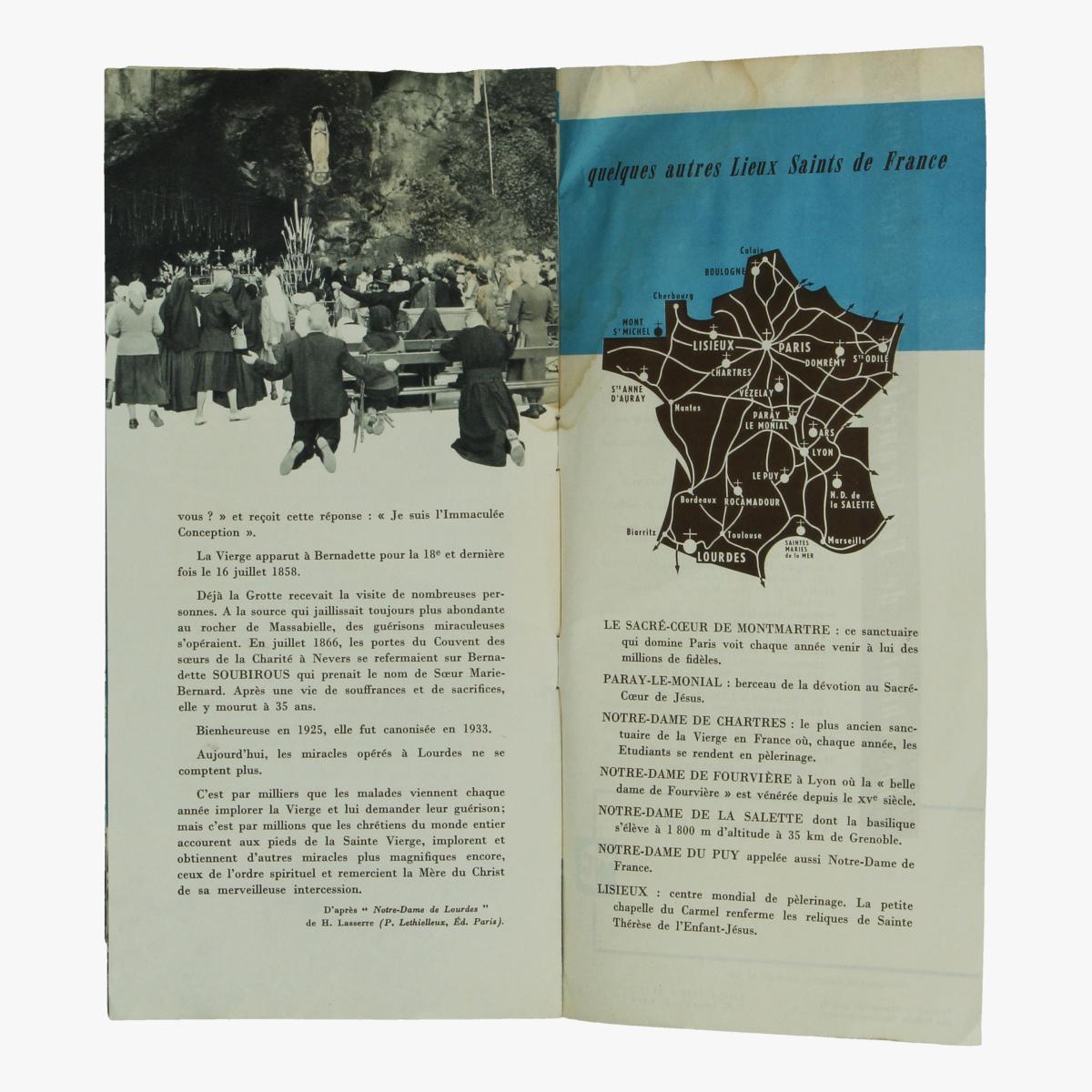 Afbeeldingen van expo 58 centenaire de lourdes  société nationale des chemins de fer français