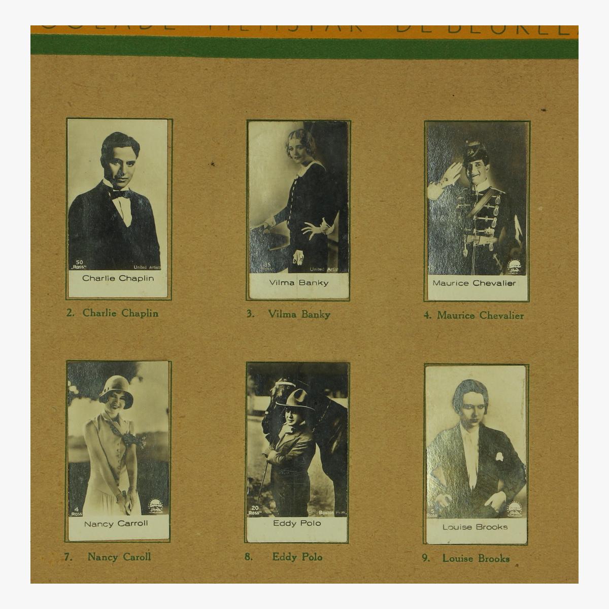Afbeeldingen van plakboek fimstar De beukelaer Antwerpen 1927