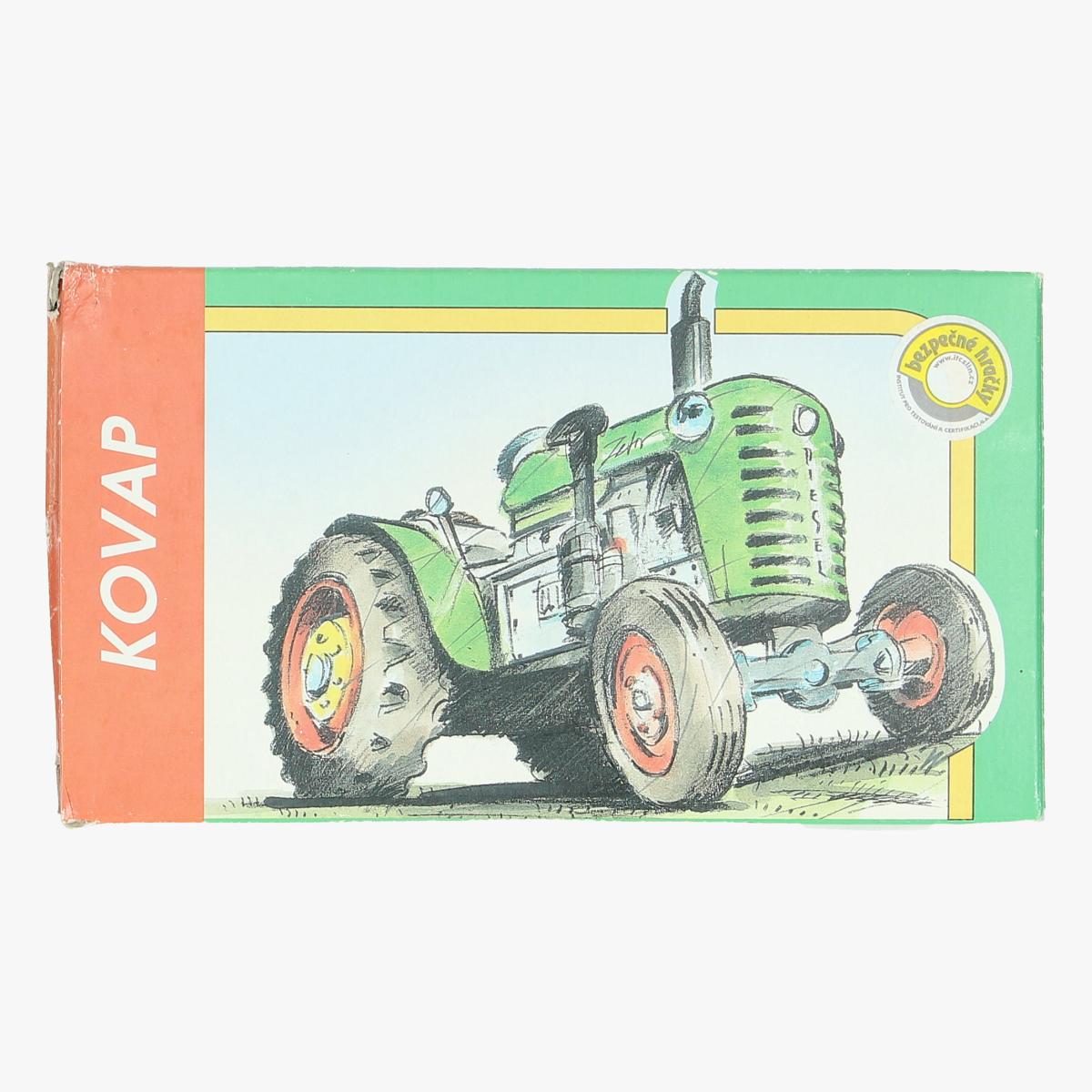 Afbeeldingen van tractor diecast 1:25 kovar metaal repro