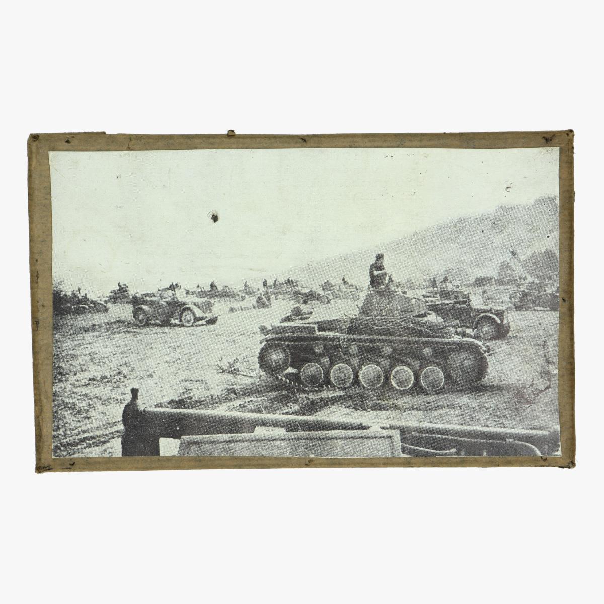 Afbeeldingen van Drukplaat Duitse tanks