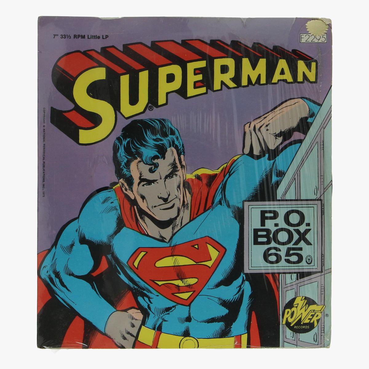 Afbeeldingen van superman little lp 1975
