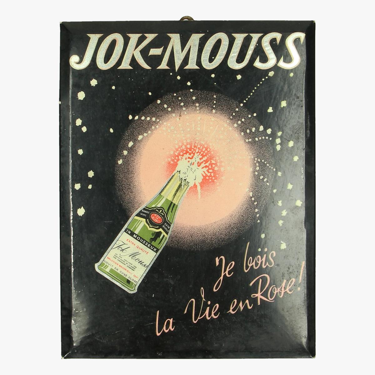 Afbeeldingen van Jok-Mouss reclame pancarte