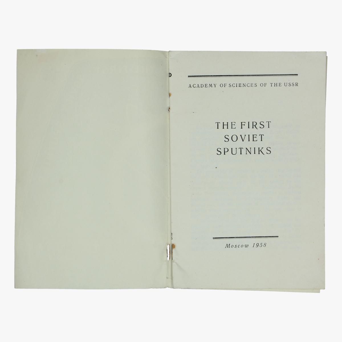 Afbeeldingen van expo 58 the first soviet sputniks 1958