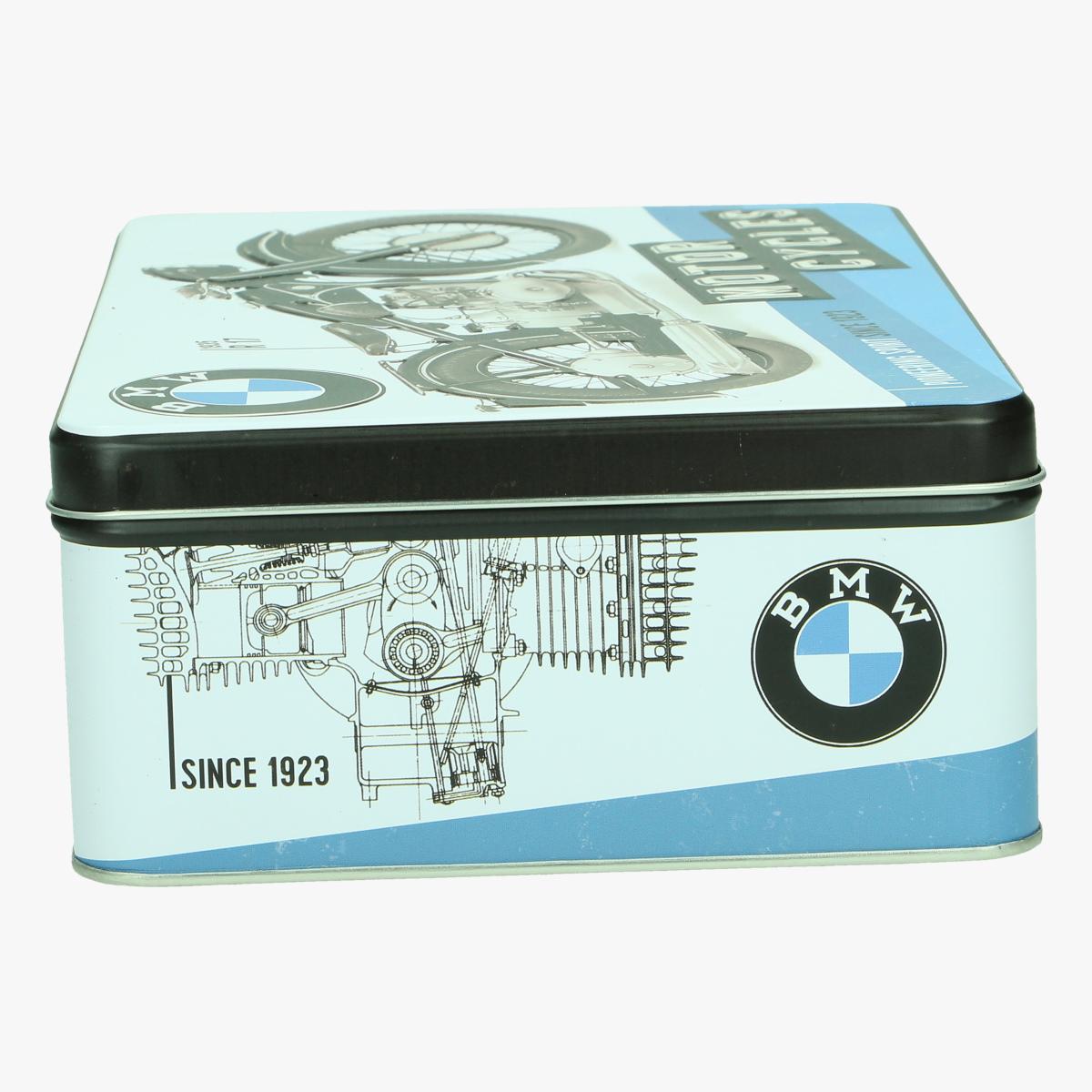 Afbeeldingen van blikken doos BMW moto cycles repro