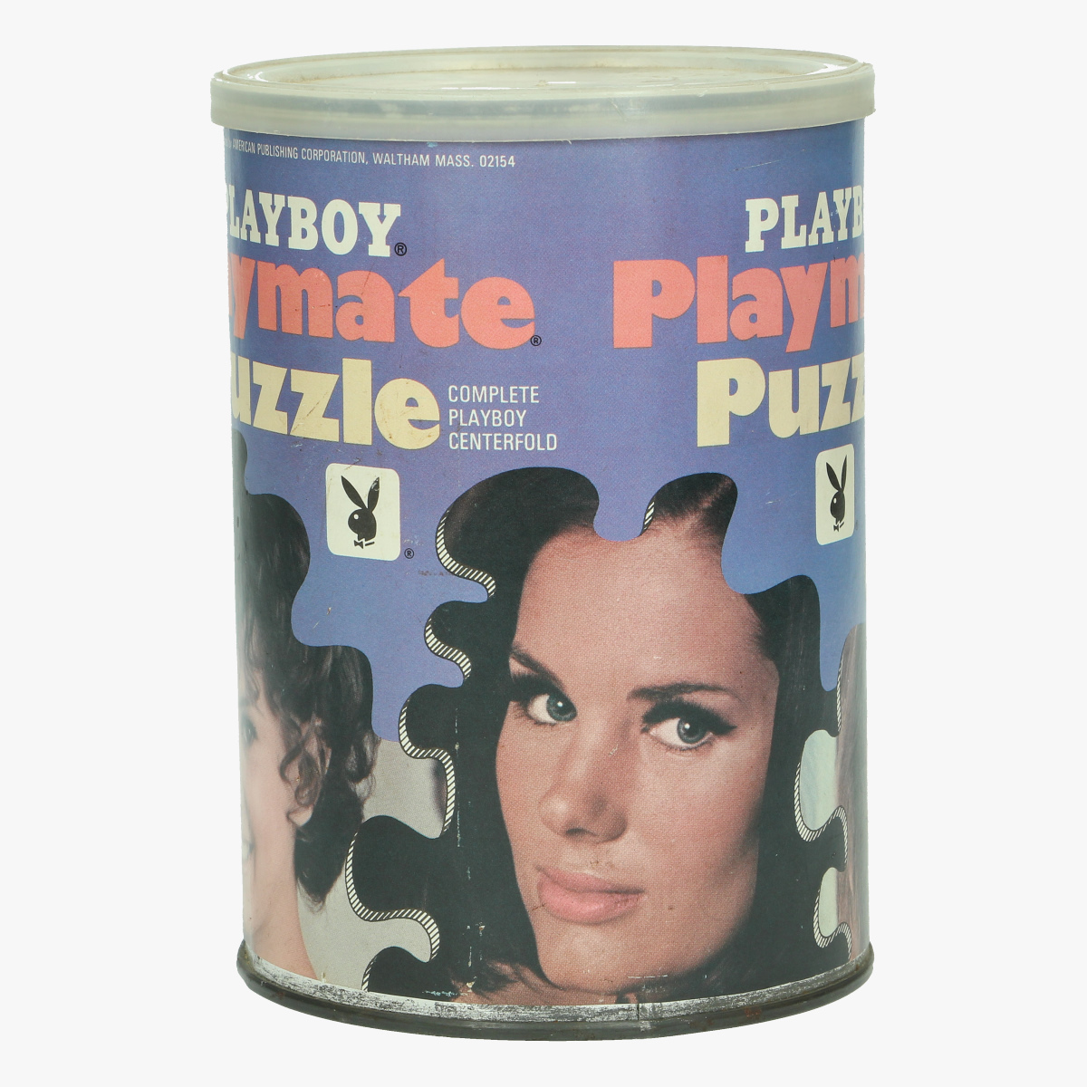 Afbeeldingen van vintage playbboy puzzel 1968 nog afgesloten blik