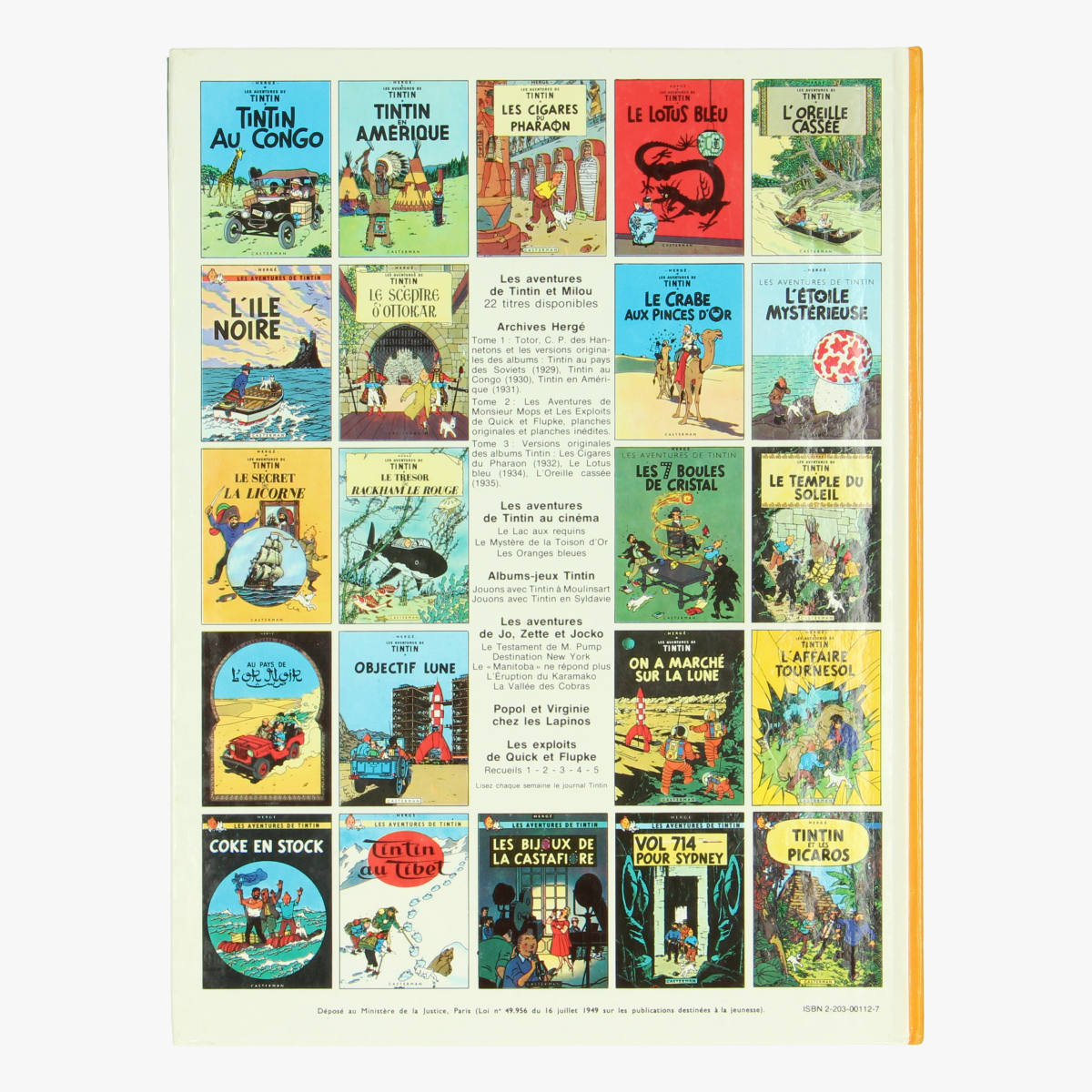 Afbeeldingen van Tintin - Kuifje - Les 7 Boules de cristal