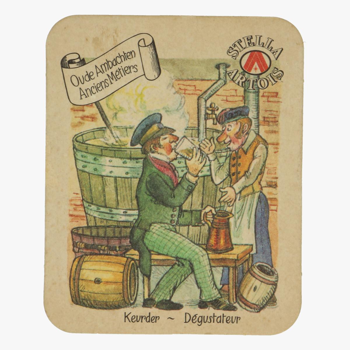 Afbeeldingen van Stella Artois Oude Ambachten Bierkaartje