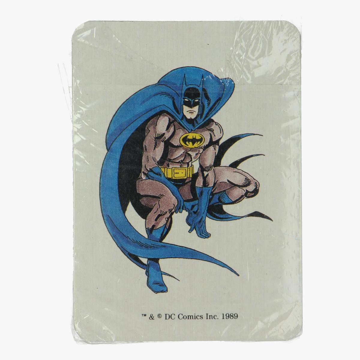 Afbeeldingen van Kaartspel Batman 1989