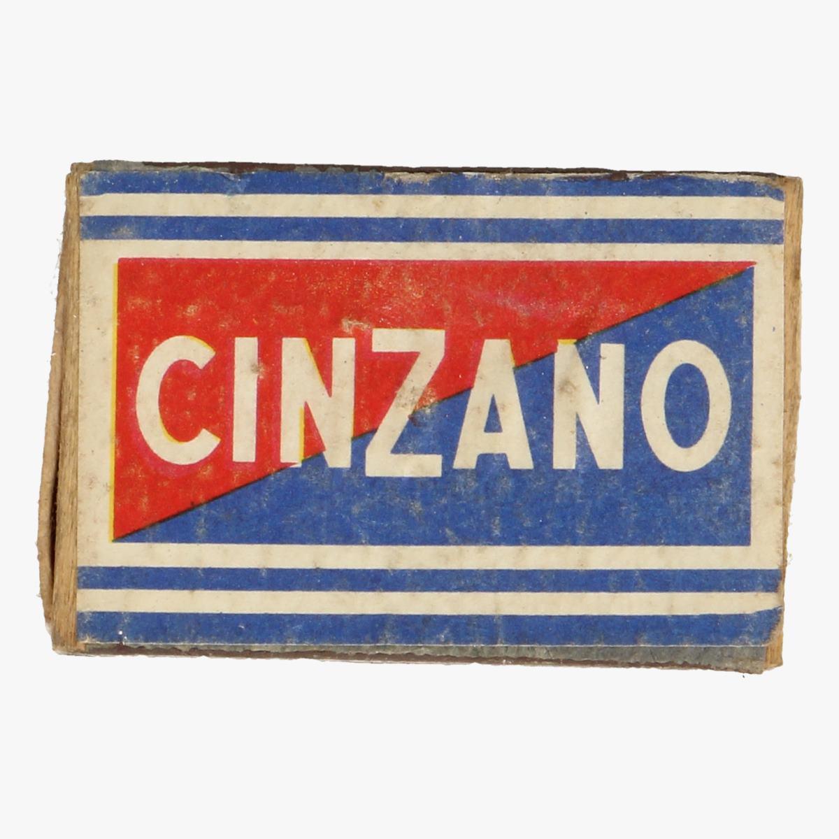 Afbeeldingen van luciferdoosje cinzano