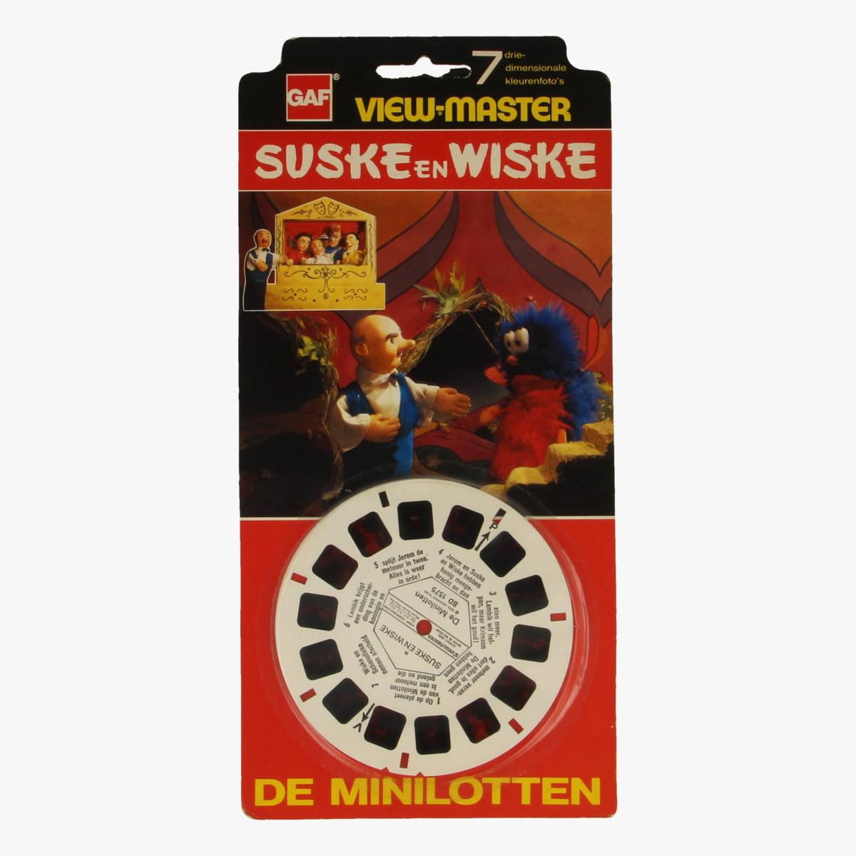 Afbeeldingen van View-master Suske en Wiske De minilotten