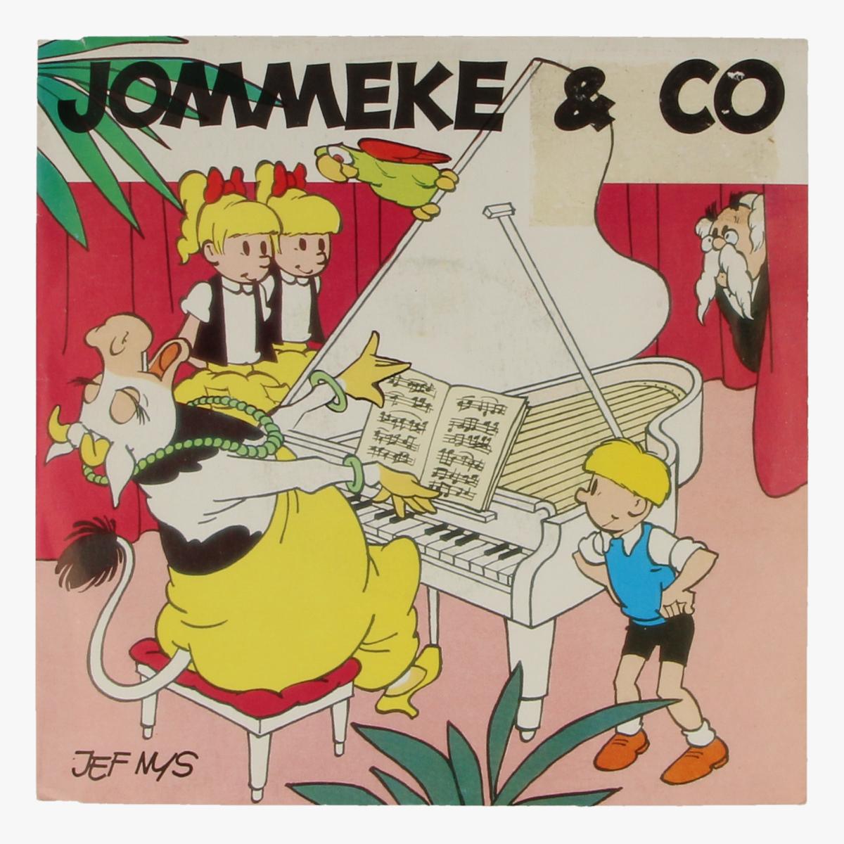 Afbeeldingen van Jommeke & CO 45 toeren LP