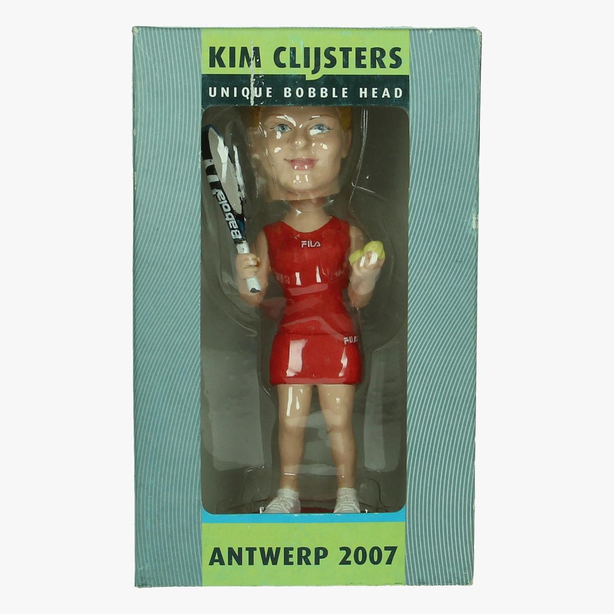 Afbeeldingen van Kim Clijsters unique bobble head ant 2007