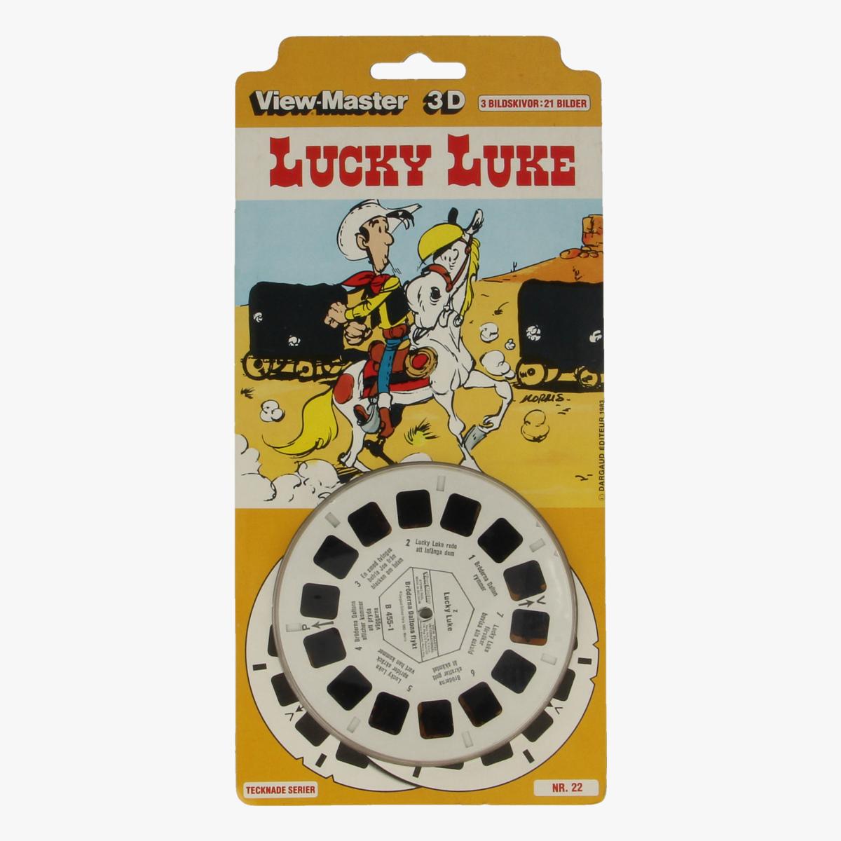 Afbeeldingen van View-master Lucky Luke Tecknade serier nr 22